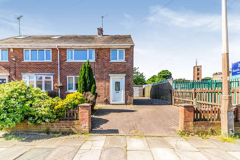 3 Bedrooms Semi Detached House for sale in Redscope Crescent, Rotherham, South Yorkshire, S61