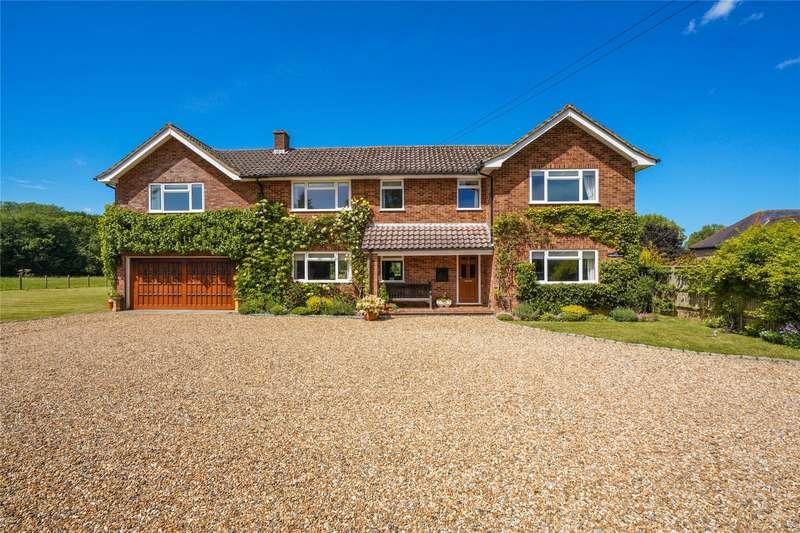 4 Bedrooms Detached House for sale in Orestan Lane, Effingham, Leatherhead, Surrey, KT24