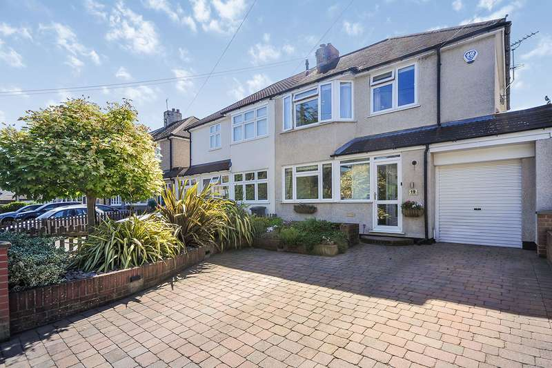 3 Bedrooms Semi Detached House for sale in College Road, Swanley, Kent, BR8