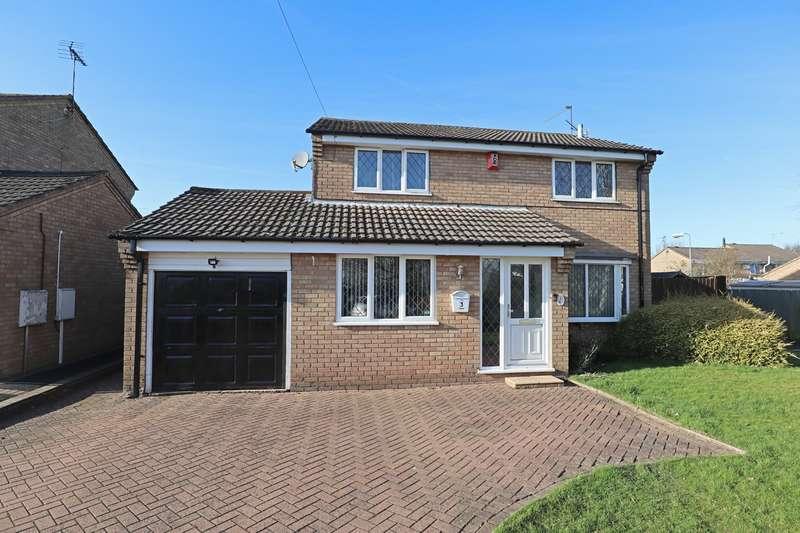 4 Bedrooms Detached House for sale in Freesland Rise, Poplar Farm, Nuneaton, CV10