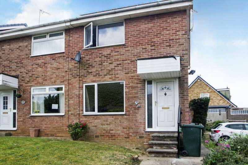 2 Bedrooms Semi Detached House for sale in Scafell Place, North Anston, Sheffield, South Yorkshire, S25