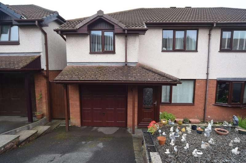 3 Bedrooms Semi Detached House for sale in Maidenlands Crescent, Dalton-in-Furness