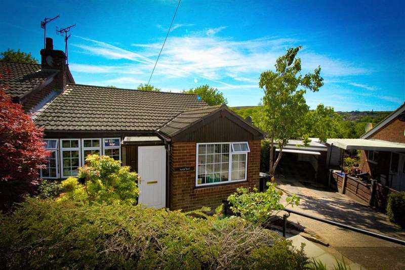 3 Bedrooms Semi Detached Bungalow for sale in Richmond Crescent, Mossley, Ashton-under-lyne