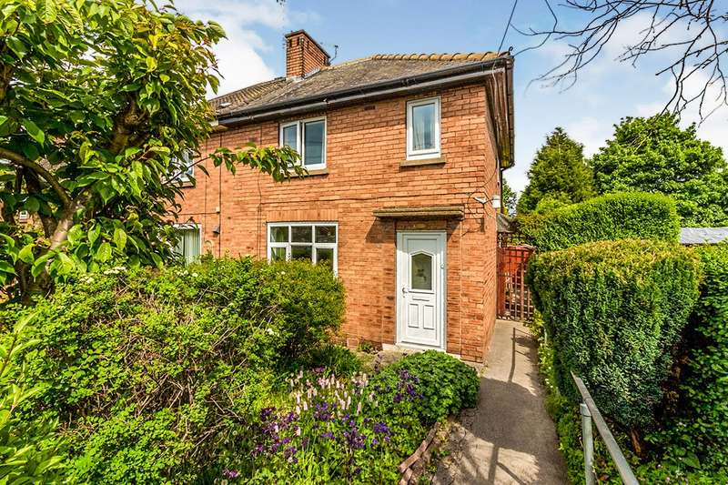 2 Bedrooms Semi Detached House for sale in Scrooby Drive, Rotherham, South Yorkshire, S61