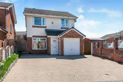 3 Bedrooms Detached House for sale in Allerton Close, Westhoughton, Bolton, Greater Manchester, BL5