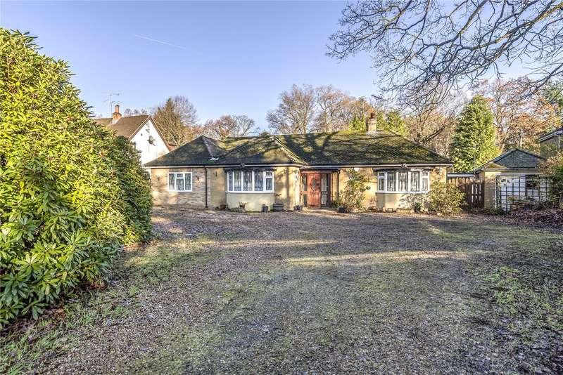 4 Bedrooms Detached Bungalow for sale in Reading Road, Finchampstead, Wokingham, Berkshire, RG40