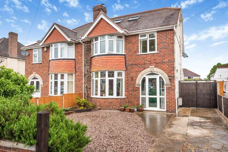 4 Bedrooms Semi Detached House for sale in Merevale Road, Elmbridge