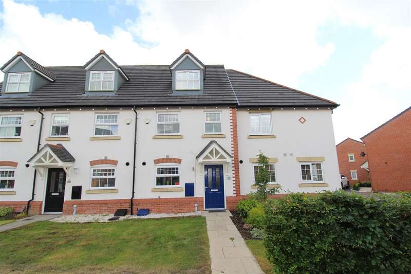 3 Bedrooms Town House for sale in Bannister Court, Shevington, Wigan