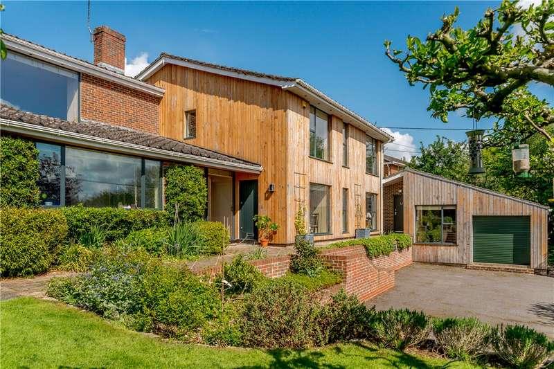 4 Bedrooms Detached House for sale in Longstock, Stockbridge, Hampshire, SO20
