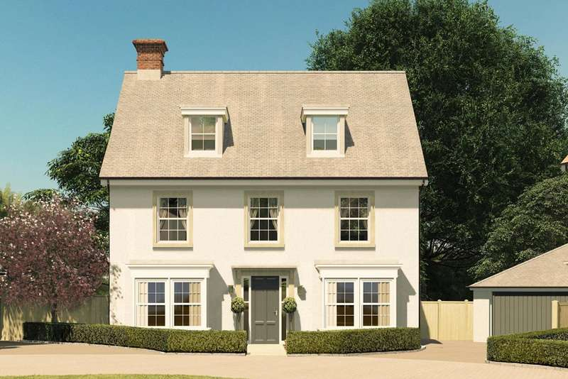 5 Bedrooms Detached House for sale in Stockbridge Road, Winchester, SO22