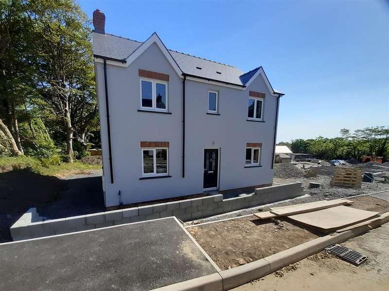 4 Bedrooms Detached House for sale in New Development, Houghton, Milford Haven