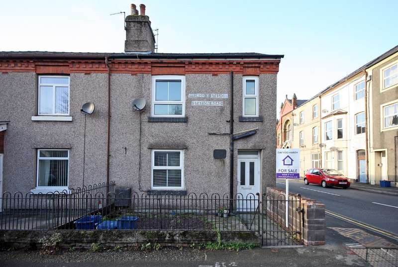 3 Bedrooms End Of Terrace House for sale in Station Road, Bethesda, Bangor, LL57