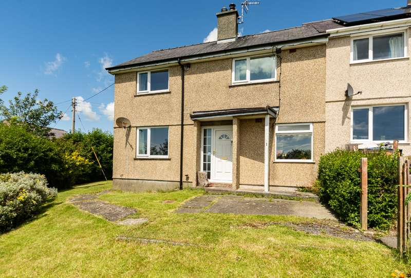 3 Bedrooms End Of Terrace House for sale in Penygroes, Llanddeusant, Holyhead, LL65