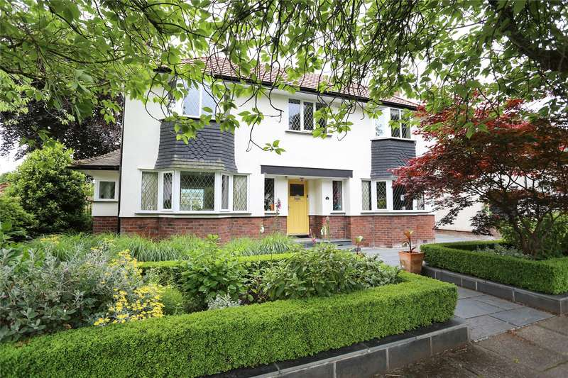 4 Bedrooms Detached House for sale in Highfield Park, Heaton Mersey, Stockport, SK4