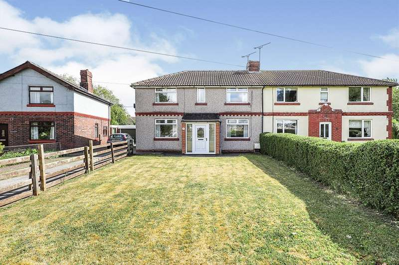 3 Bedrooms Semi Detached House for sale in The Crescent, Thurcroft, Rotherham, South Yorkshire, S66