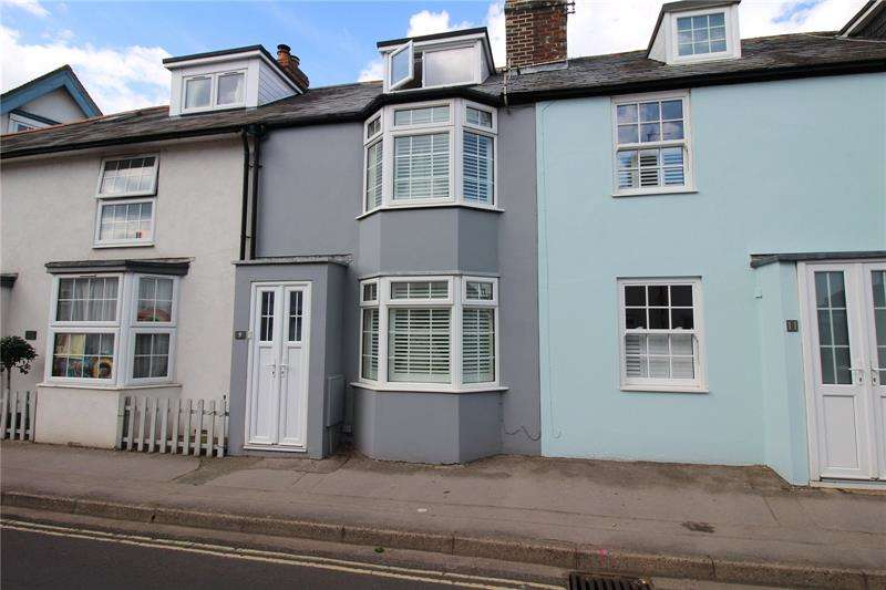 3 Bedrooms Terraced House for sale in Keyhaven Road, Milford on Sea, Lymington, Hampshire, SO41