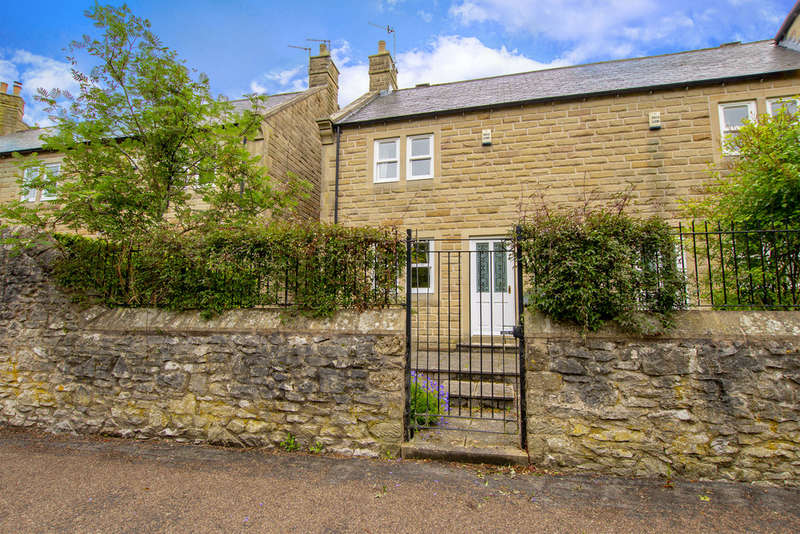 2 Bedrooms End Of Terrace House for sale in Mayfly Cottage, 6 Riverside Crescent, Bakewell