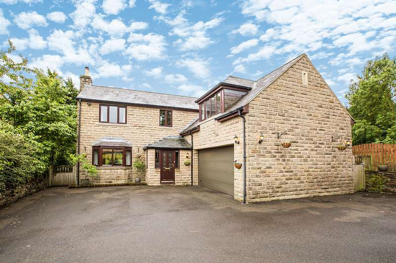 5 Bedrooms Detached House for sale in Southedge Close, Hipperholme, Halifax, West Yorkshire, HX3