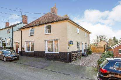2 Bedrooms End Of Terrace House for sale in Kenninghall, Norwich