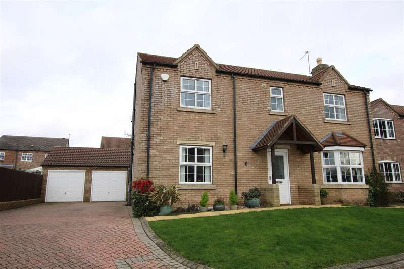 4 Bedrooms Detached House for sale in Bishop Close, Dunholme, Lincoln