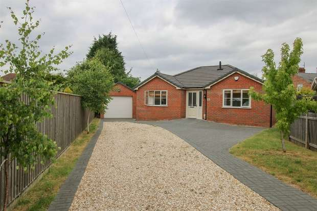 3 Bedrooms Detached Bungalow for sale in Spalding