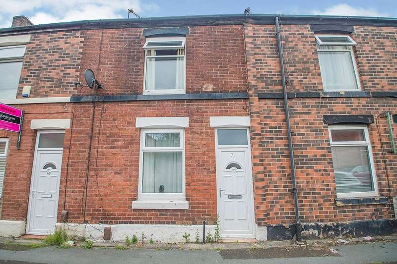 2 Bedrooms Property for rent in Coomassie Street, Radcliffe, Manchester, M26