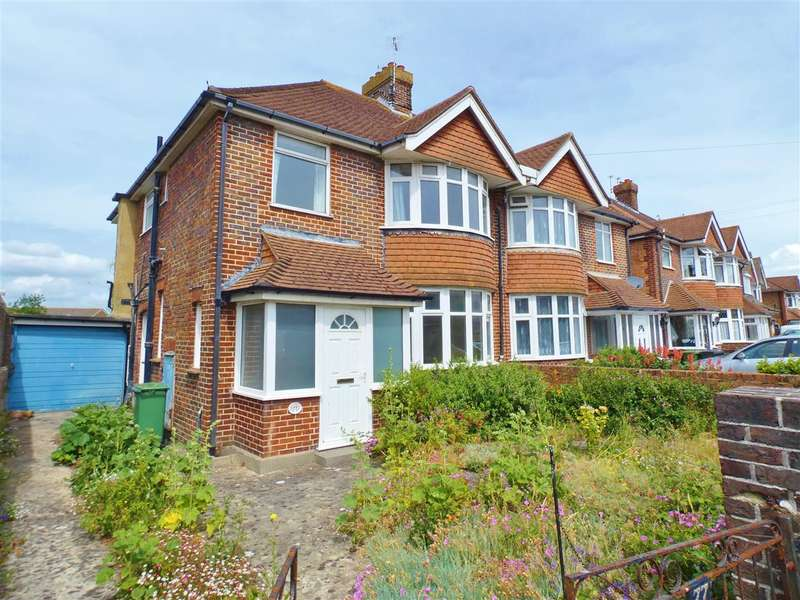 3 Bedrooms Semi Detached House for sale in Astaire Avenue, Eastbourne