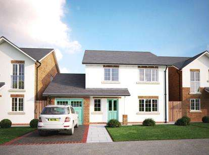 4 Bedrooms Detached House for sale in The Cambrian - Plots 4 & 7, Summerhill Lane, Drovers Lane, Caerwys, CH7
