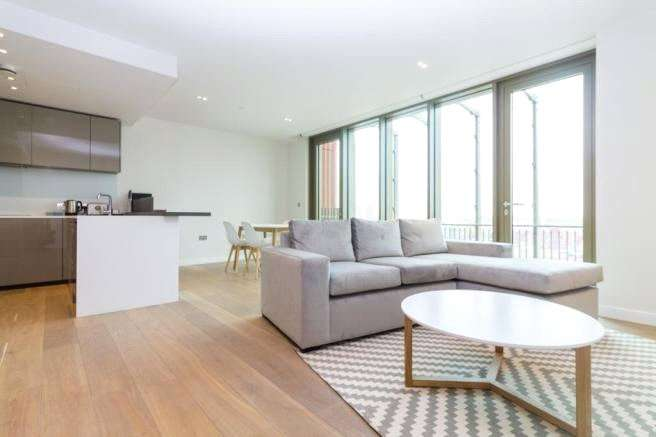 2 Bedrooms Apartment Flat for rent in Tapestry Apartments, 1 Canal Reach, King's Cross, N1C