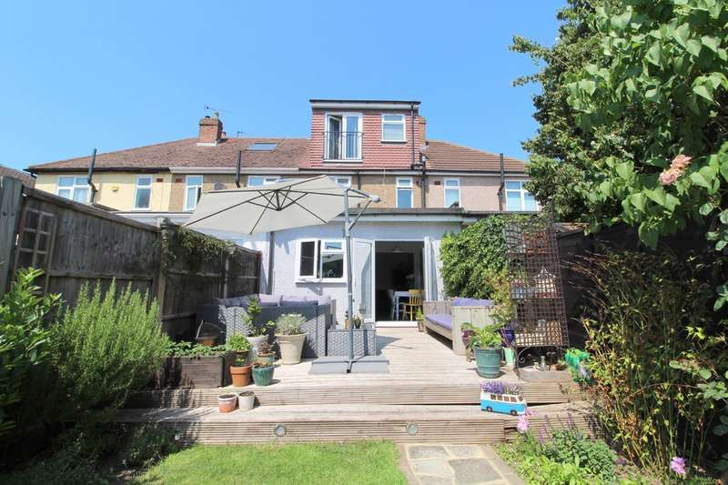 3 Bedrooms Terraced House for sale in Rochester Avenue, Lower Feltham