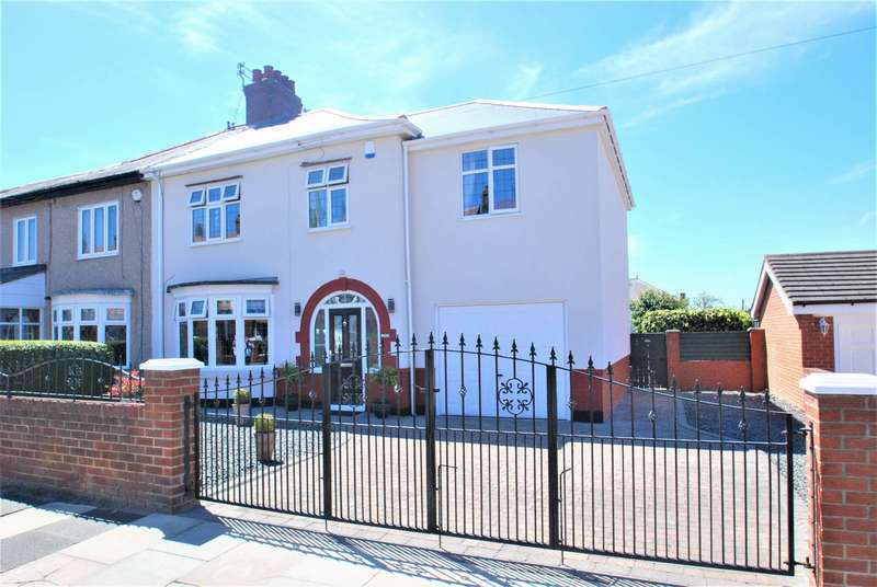 4 Bedrooms Semi Detached House for sale in Sunderland Road, South Shields