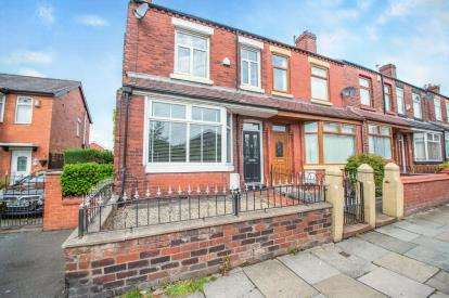 2 Bedrooms End Of Terrace House for sale in Partington Lane, Swinton, Greater Manchester