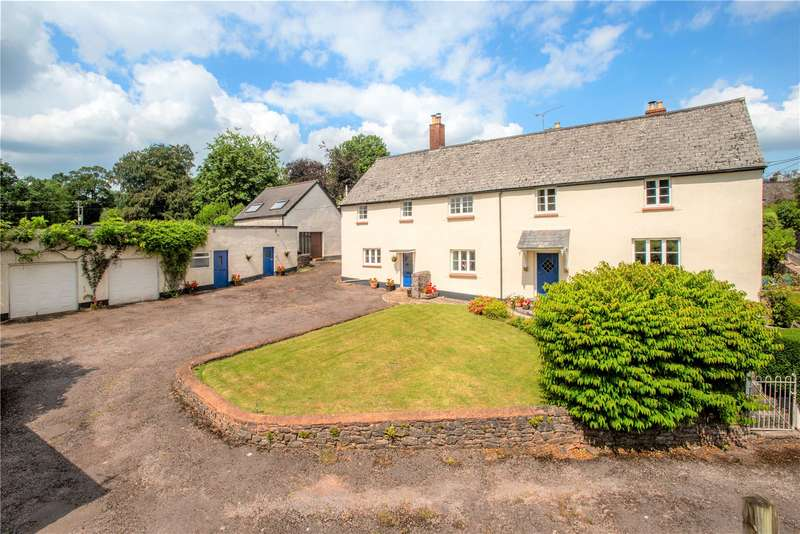5 Bedrooms Detached House for sale in South Street, Holcombe Rogus, Wellington, Somerset, TA21