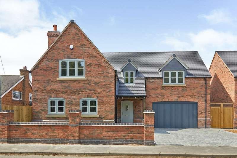 4 Bedrooms Detached House for sale in School street, Oakthorpe, Derbyshire, DE12