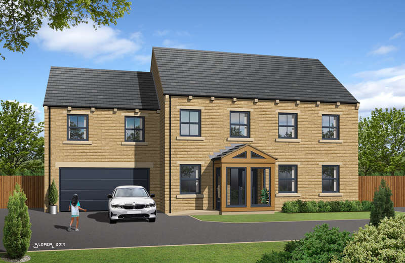 6 Bedrooms Detached House for sale in Glebe Garden Court, Silkstone, Barnsley, S75 4NY