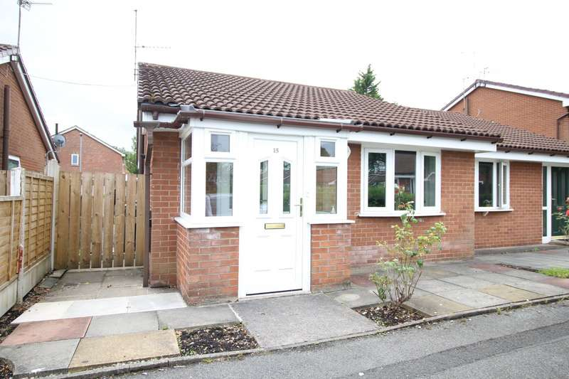 2 Bedrooms Semi Detached Bungalow for sale in Lomas Close, Burnage, Greater Manchester, M19