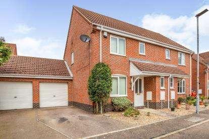 3 Bedrooms Semi Detached House for sale in Wymondham, Norwich, Norfolk