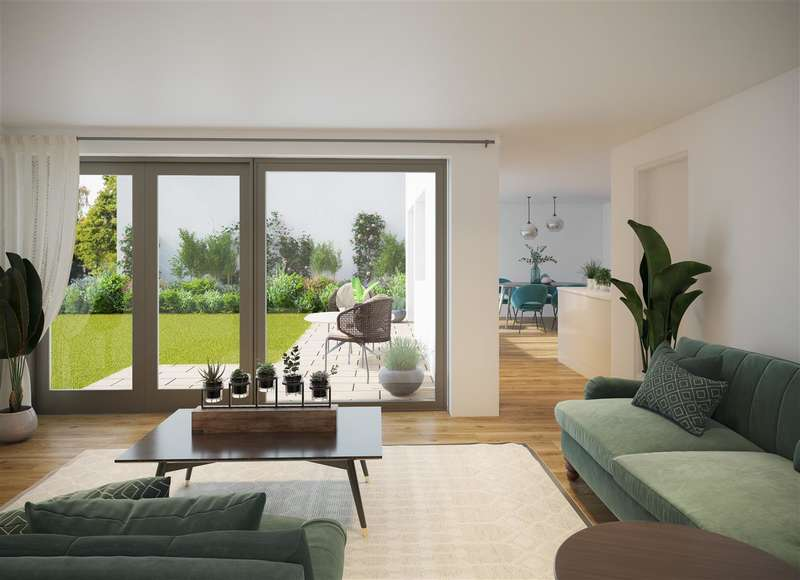 4 Bedrooms Detached House for sale in eco-homes, Water Lilies, The Old Reservoir, Kings Weston, Bristol
