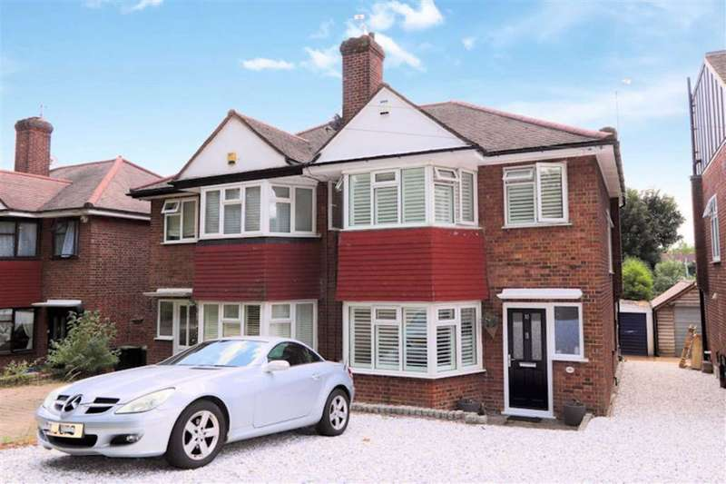 3 Bedrooms Semi Detached House for rent in Hillcrest Way, Epping