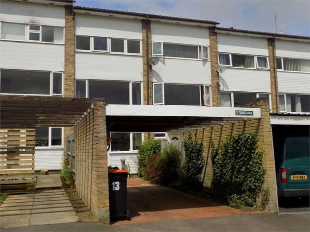 3 Bedrooms Town House for sale in Purwell Walk, Leighton Buzzard, Bedfordshire