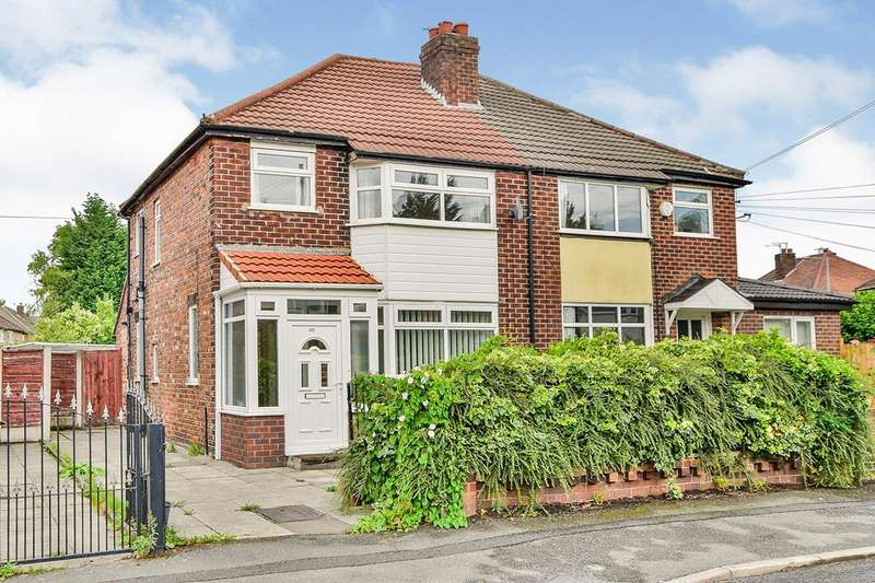 3 Bedrooms Semi Detached House for sale in Tanfield Road, Didsbury, Greater Manchester, M20