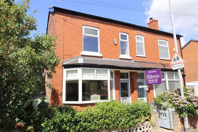 4 Bedrooms Semi Detached House for sale in Longford Road, Chorlton, Manchester, M21
