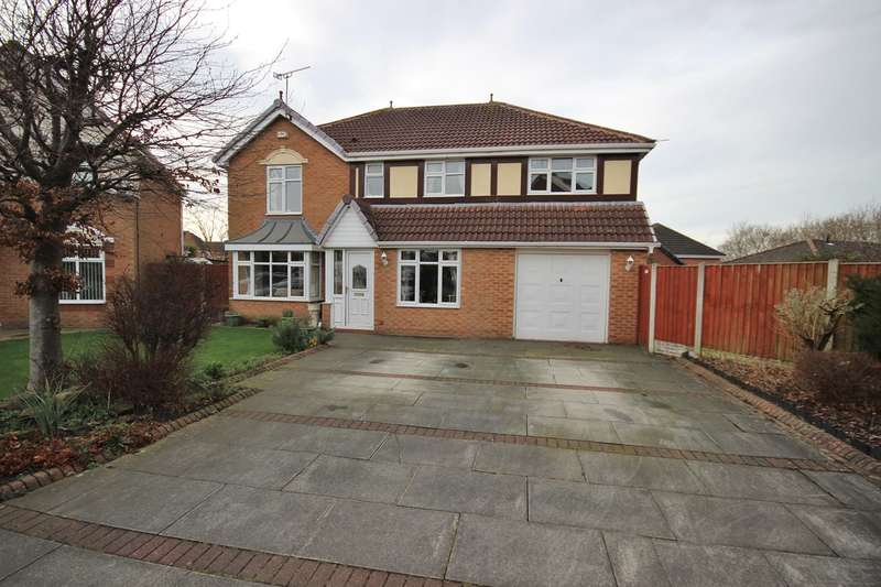 5 Bedrooms Detached House for sale in Rushton Close, Widnes, WA8
