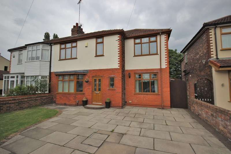 5 Bedrooms Semi Detached House for sale in Heath Road, Widnes, WA8
