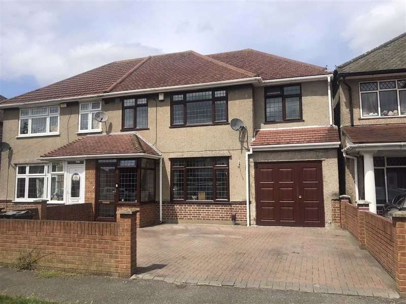 4 Bedrooms Semi Detached House for sale in Crosslands Avenue, Southall, Middlesex