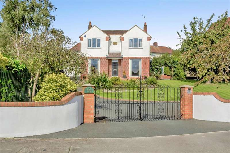 4 Bedrooms Detached House for sale in Pinfold Rise, Aberford, Leeds, LS25 3EN