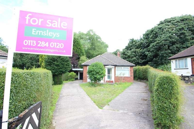 3 Bedrooms Detached Bungalow for sale in Valley Drive, Leeds