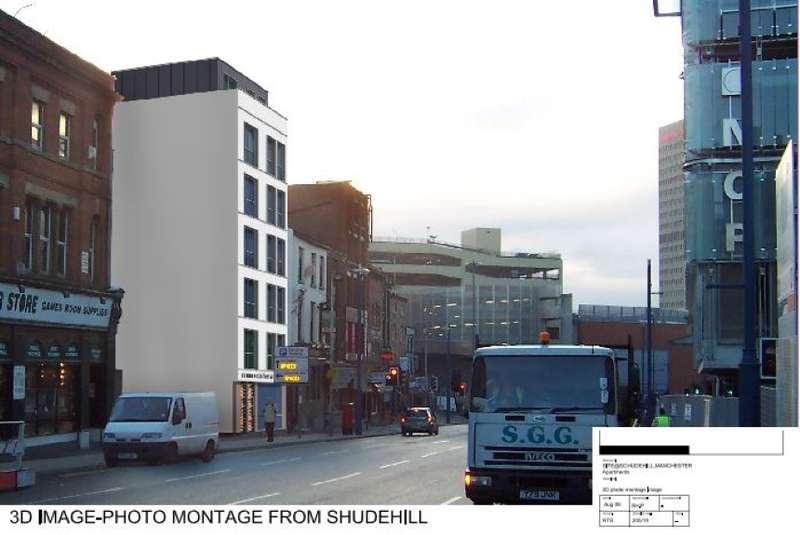 Residential Development Commercial for sale in Development Site 48 Shudehill & Salmon Street, Northern Quarter, Manchester, Greater Manchester