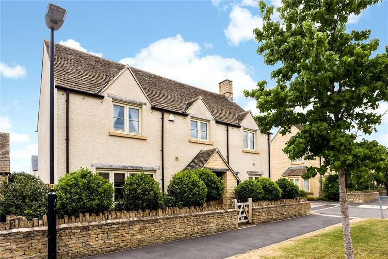 4 Bedrooms Detached House for sale in Nightingale Way, South Cerney, Cirencester, Gloucestershire, GL7