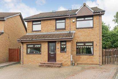 4 Bedrooms Detached House for sale in Neptune Way, Bellshill, North Lanarkshire